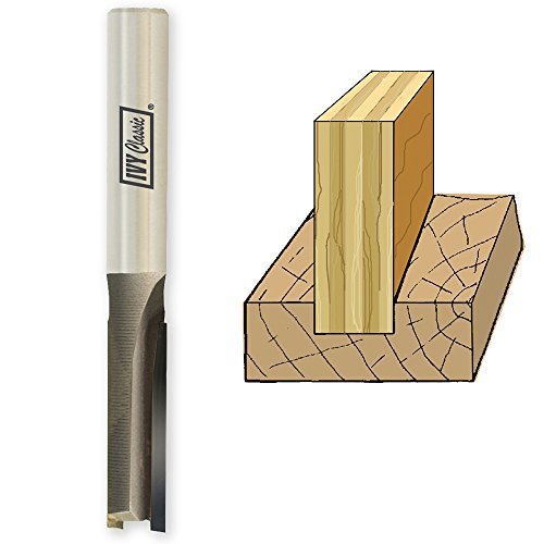 IVY Classic 10803 15//64-Inch Carbide Mortising Router Bit FOR 1//4-INCH PLYWOOD 1//Pouch 1//4-Inch Shank