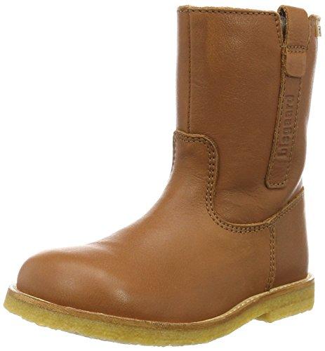 Bisgaard TEX boot 60504216, Unisex-Kinder Schneestiefel Braun (502 Cognac)