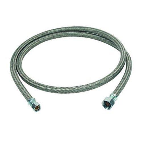 BrassCraft B1-60A F 3/8 Compression x 1/2 FIP x 5' Braided Polymer Faucet Connector by BrassCraft -