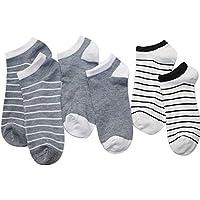 XMDNYE 6 Stücke = 3 Paar Männer Söckchen Männer Casual Short Socken Männlichen Socken Slipper Flacher Mund Socken