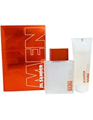 Jil Sander Sun Geschenkset homme/ men Eau de Toilette, Vaporisateur/ Spray, 75 ml und All over shampoo, 75 ml