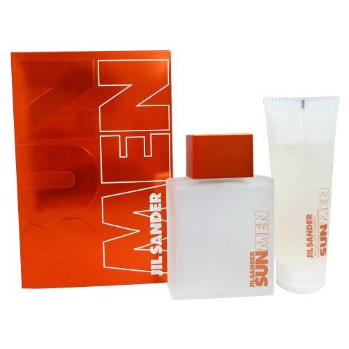 Jil Sander Sun Geschenkset homme / men, Eau de Toilette, Vaporisateur / Spray 75 ml und All over shampoo 75 ml