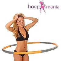 hoopomania Weight Hoop, Hula Hoop con gomaespuma 1,5kg