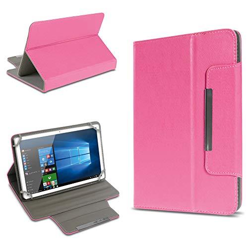 UC-Express Schutz Tasche für Tablet Hülle Schutzhülle Universal 10 Zoll Cover Case Etui Bag, Farben:Pink, Tablet Modell für:BLAUPUNKT Endeavour 1000 WS