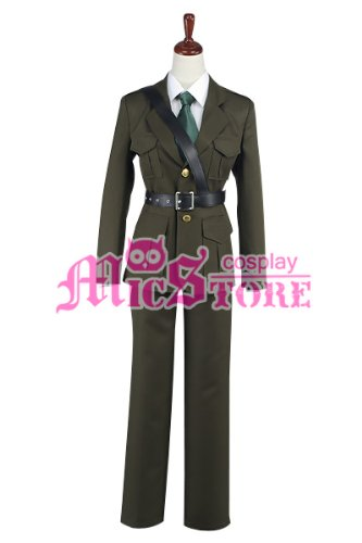 Weibliche Uk Kostüme Cosplay (Hetalia: Axis Powers England UK uniform Kostüm Größe Female)