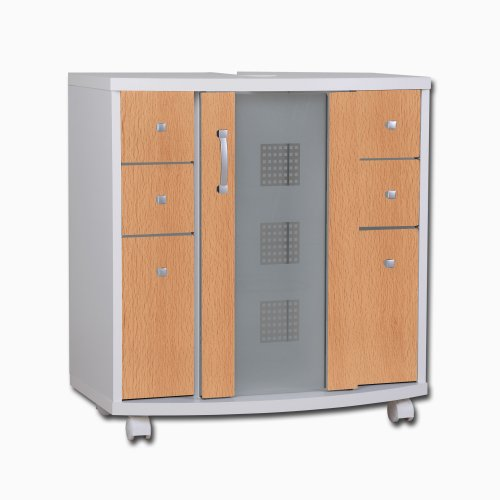 Posseik 5418 33 Waschbeckenunterschrank Nizza (Nizas) Buche Nachbildung