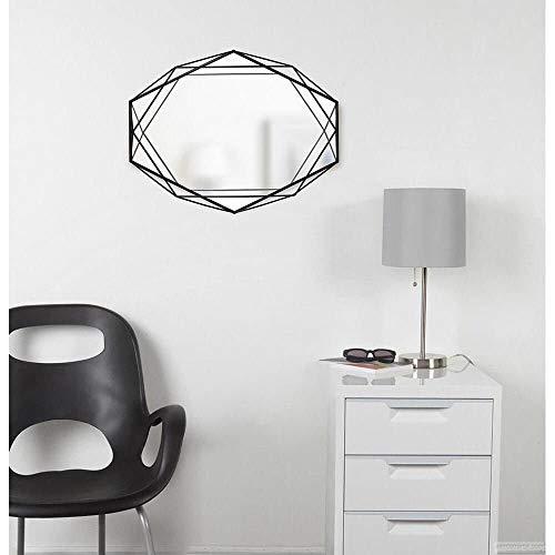 Umbra Prisma Specchio Nero, 56.80x43.00x9.00 cm, 3 unità