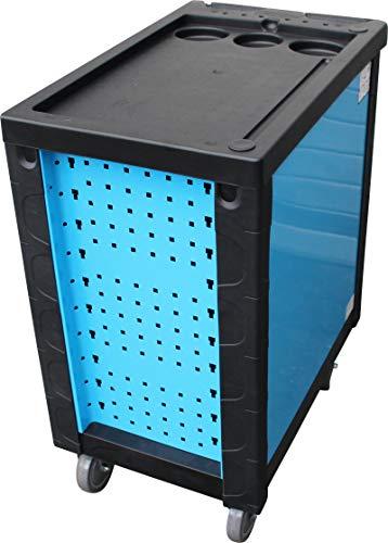DeTec. Werkstattwagen blue Edition inkl. Werkzeug + GRATIS COB Akku - 5