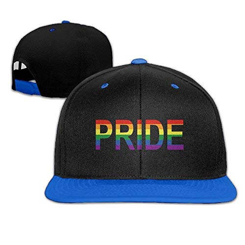 JIEKEIO Funny Baseball Caps Hats LGBT Gay Lesbian Pride Baseball Snapback Hip Hop Cap Customized for Womens