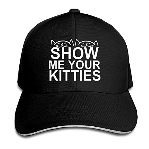 Show Me Your Kitties Funny Cat Unisex Strapback Hat Sports Caps