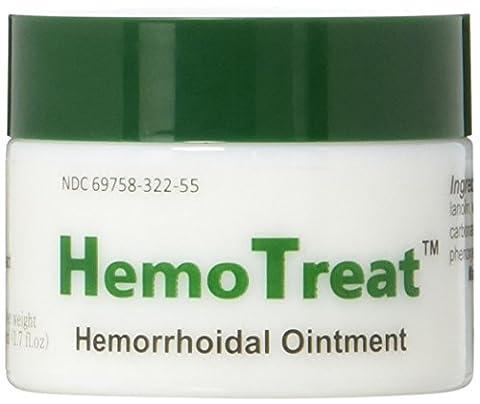 HemoTreat Hämorrhoiden Salbe, Creme für eine schnelle sichere effektive Behandlung