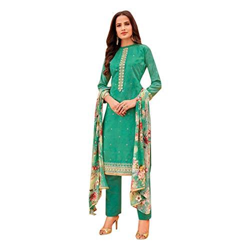 Frauen Formelle Kleidung Gedruckt Dupatta Salwar Kameez Designer Benutzerdefinierte Maß indische muslimische Punjabi Kurti Hose 7419 - Kameez Kurti