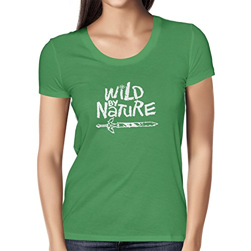NERDO - Wild By Nature - Damen T-Shirt Grün