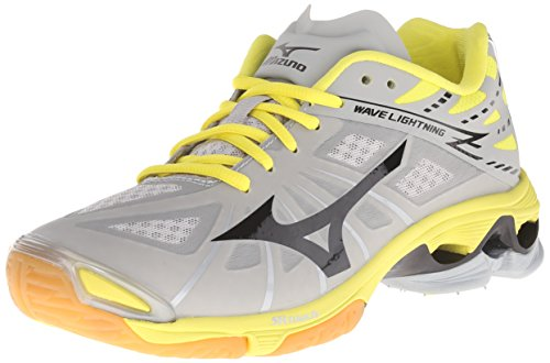 Mizuno Wave Lightning Z Textile Cross-Training Grey/Black/Yellow