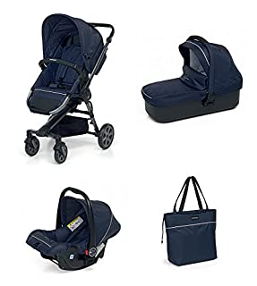 Foppapedretti Supertres Sistema Combinato con Passeggino, Navicella, Seggiolino Auto e Borsa, Navy (B076PPNL38) | Amazon price tracker / tracking, Amazon price history charts, Amazon price watches, Amazon price drop alerts