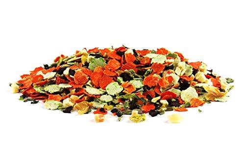 Gemüse-Frucht-Mix, 1kg-Beutel, Nahrungsergänzung als gesunde, natürliche Ernährung für Hunde von DIBO, Hundefutter, BARF, B.A.R.F.