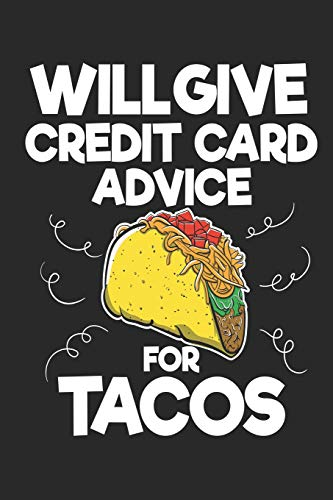 d Advice For Tacos: Funny Blank Lined Journal Notebook, 120 Pages, Soft Matte Cover, 6 x 9 ()