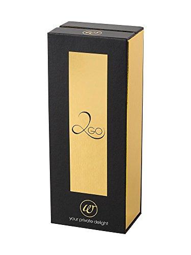 Womanizer-SparBox: Womanizer 2GO Schwarz/Schwarz/Gold + 2in1 professional Cleaner + 3 zusätzliche Ersatzköpfe aus medizinischem Silikon in der limitierten Geschenkbox - 5