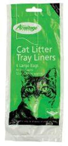 Armitage Pet Care Katzenklo Einlagen, groß, 6