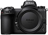 Nikon Z6 Full Frame Mirrorless Camera Body With Nikon FTZ Mount Adapter - Black