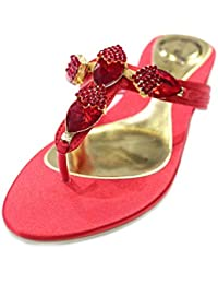 509e4269f83 Amazon.es  sandalias fiesta doradas - Wear   Walk UK   Zapatos ...
