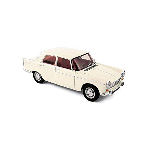 Norev - 184870 - Peugeot 404 Berline - 1965 - Échelle 1/18 - Ivoire 3551091848707