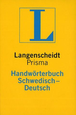 Langenscheidt Handwörterbuch Schwedisch-Deutsch