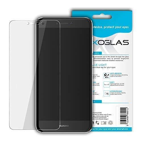 Flexoglas für Huawei P8 Lite 2017 Bildschirmschutzfolie mit Blaulichtfilter Transparente Schutzfolie Resistent wie Gehärtetes Glas Anti-Schock Anti-Kratz