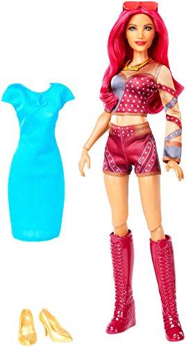 Wwe Superstars Sasha Banks Doll & Fashion Action Figure Englisch Version
