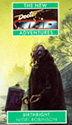 Dr Who New Adventures:birthright (New Doctor Who Adventures)
