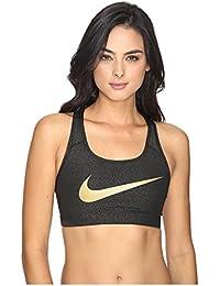 Nike Pro Classic Swoosh Gold–Brassière de sport pour femme