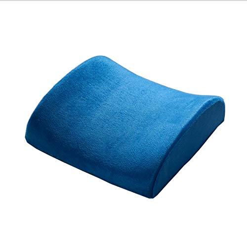 QNYH Lendenkissen Taille Auto Kissen Mantel, Speicher Baumwolle Taille Pad, Langsam Rebound Bürostuhl Rückenmatte 32 cm X 30 cm X 10 cm -