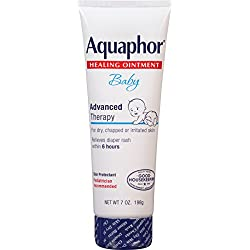 Aquaphor Baby Healing Ointment, Diaper Rash and Dry Skin Protectant, 7 Ounce