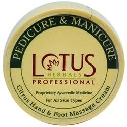Lotus Professional Pedicure and Manicure Citrus Hand &Foot Cream,250gm