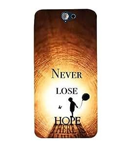 EPICCASE spark of life Mobile Back Case Cover For HTC One A9 (Designer Case)