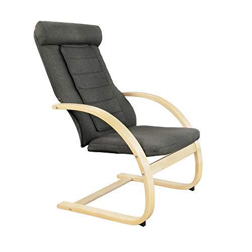 Medisana RC 410 Relaxsessel mit Shiatsu-Massagefunktion, Massagestuhl mit Wärmefunktion, Spotmassage, Swing-Sessel mit Wohlfühlfaktor