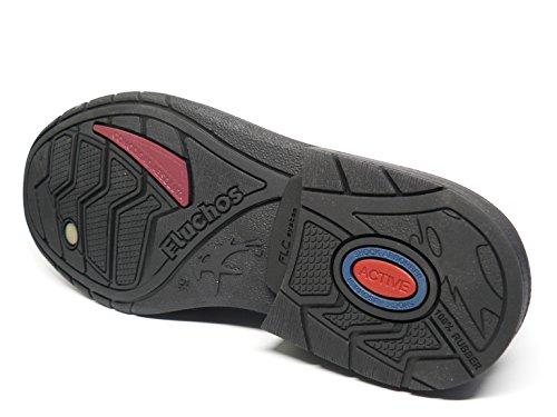 Fluchos , Chaussures de ville à lacets pour homme Noir