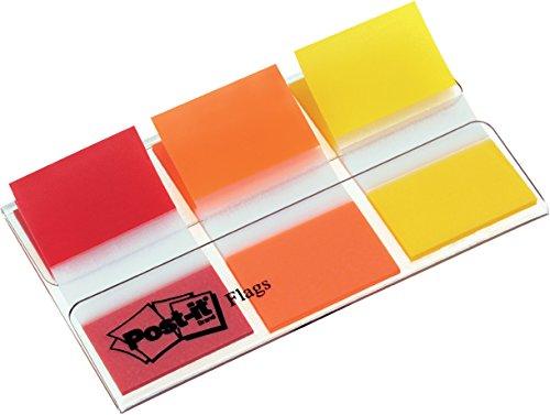 post-it-680-royeu-marque-pages-standard-254-x-44-mm-rouge-jaune-orange