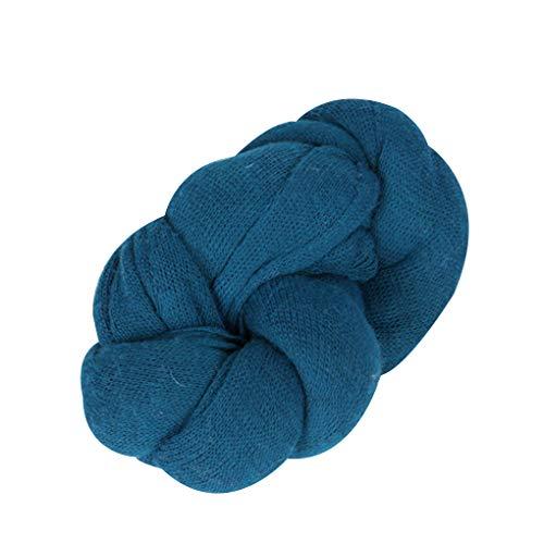 lide Wrap Baby-Fotografie Props Decke Infant Foto Shooting Basket Stuffer Swaddle Dark Blue ()