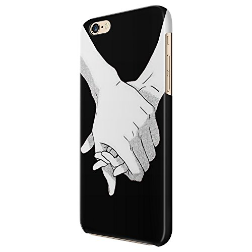 Cover Custodia Protettiva Love Hand In Hand Black And White Couple Case Iphone 4/4S/5/5S/5SE/5C/6/6S/6plus/6s plus Samsung S3/S3neo/S4/S4mini/S5/S5mini/S6/note