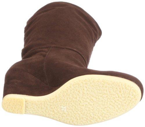 IKKS Triveni I00506, Stivali in pelle scamosciata donna Marrone (Braun/T-Moro)