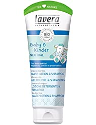 lavera Baby Neutral Hair & Body Shampoo ∙ Mild, Natural Washing Substances ∙ Vegan ✔ Organic Skin Care ✔ Natural & Innovative Cosmetics ✔ 200ml