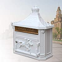 MON5F Home Caseta de Pared Antigua Impermeable y buzón de Correo Impermeable