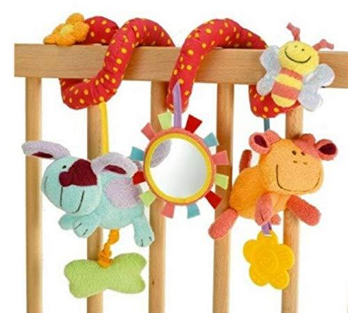 Oulensy Neues Babybett Spirale Aktivität hängenden Dekoration Babyspielzeug Kinderbett Auto Kinderwagen Baby