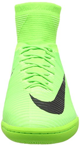 Nike Mercurial X Proximo Ii Ic, Chaussures de Football Homme Vert (Electric Green/Black-Bleu Ghost Green)