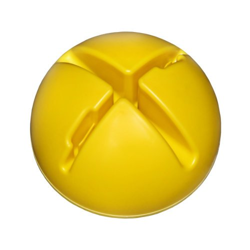 Agility Hundesport – X-Standfuß, gelb und Ring / Reifen Ø 60 cm, grün - 2