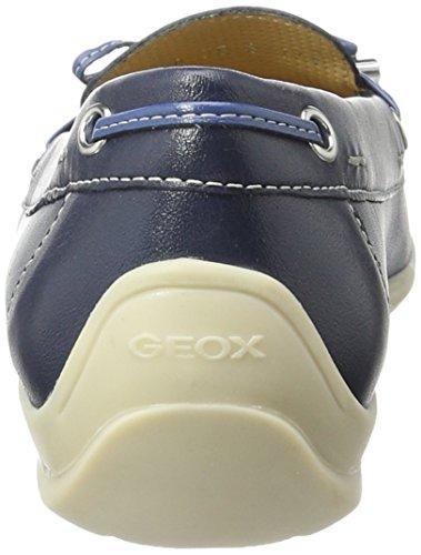 Geox D Yuki A, Mocassini Donna Blu (AVIOC4005)