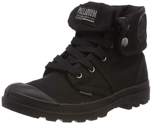 Palladium Damen Us Baggy W F Hohe Sneaker,Schwarz (Black/Black 466), 42 EU (Hohe Stiefel Flache Schwarze)