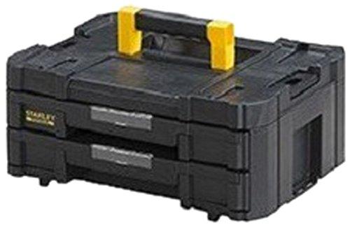 Großhandel 2 Schublade (Stanley FatMax Werkzeugkoffer / Werkzeugkasten TSTAK VI (8L Fassungsvermögen, mit 2 Schubladen und Organizern für Kleinteile, mit Metallschließen, mit herausnehmbaren Innenteilern) FMST1-71969)