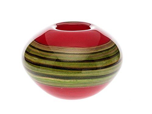 Decorative Table Vase - Italian Murano Style - Solid Glass - 5.3kg